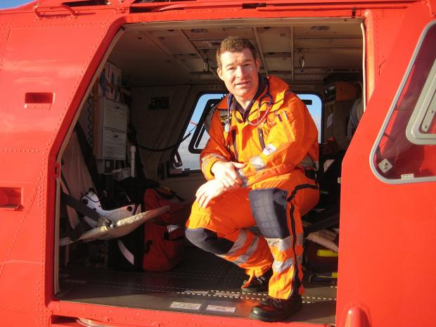 News Shopper: Dr Mark Wilson spends one shift a month with London's Air Ambulance