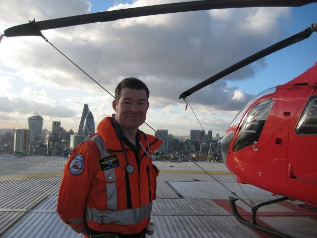 News Shopper: The helipad is on top of the Royal London Hospital in Whitechapel