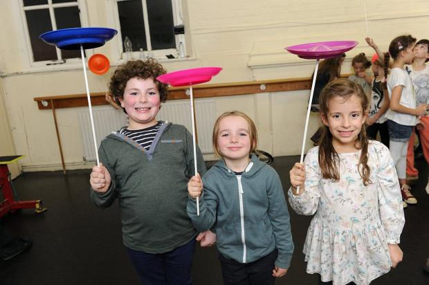 News Shopper: Youngsters get to grips with circus skills