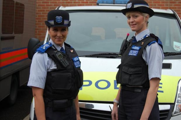 Brockley heart attack victims saved by PCSOs