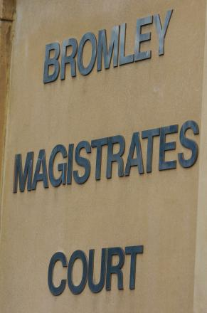 Colin Gliddon pleaded guilty to one charge of fly-tipping at Bromley Magistrates' Court