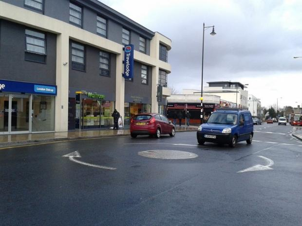 News Shopper: The junction at Church Road where the works will start.
