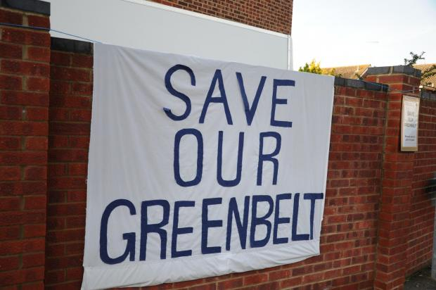 Campaigners say the greenbelt is under threat in Gravesham.