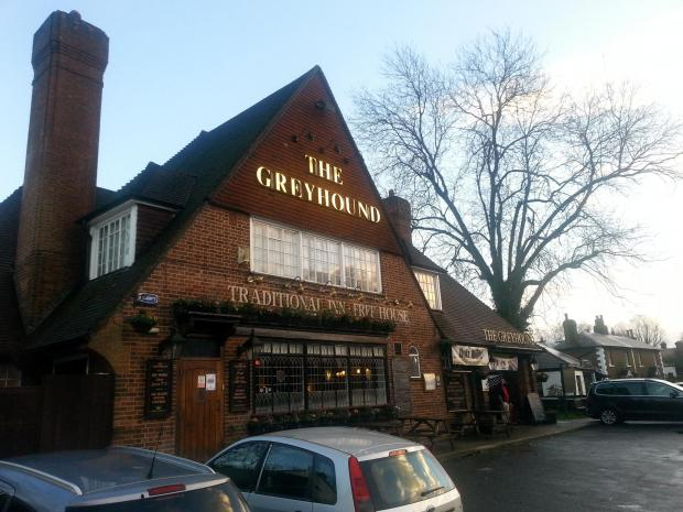 PubSpy reviews The Greyhound, Keston