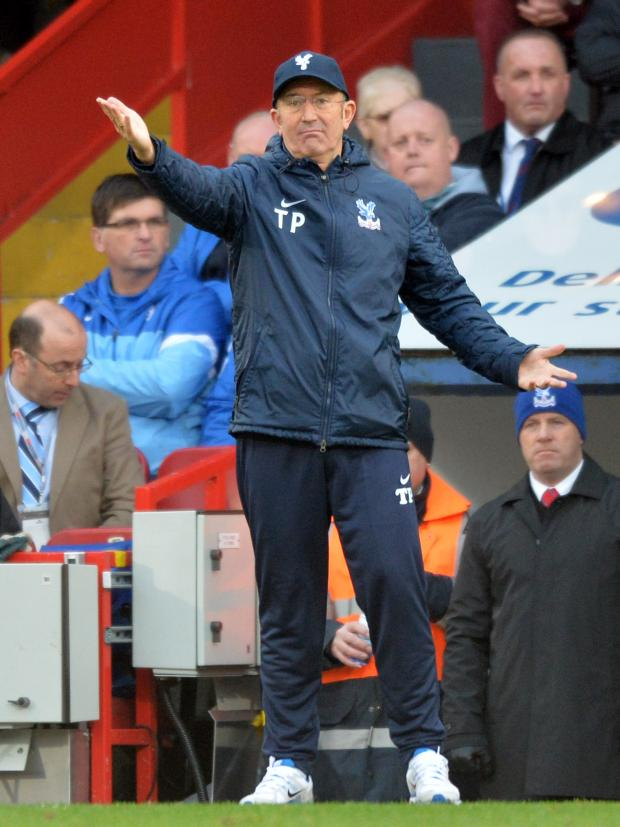 News Shopper: Tony Pulis will be pitting his wits against Wenger this afternoon.