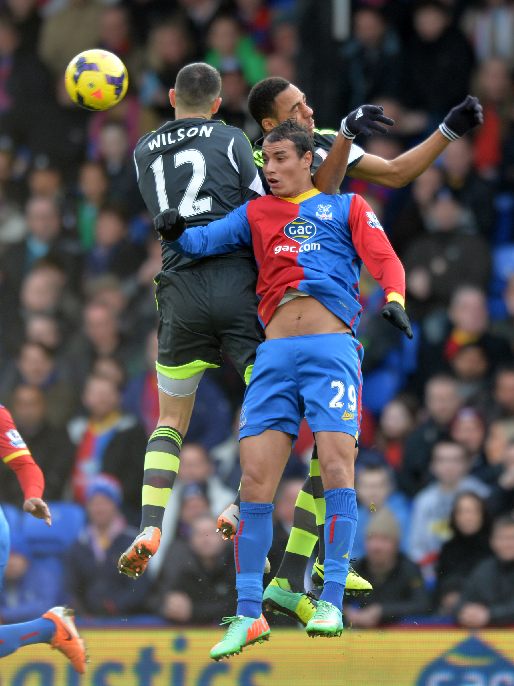 News Shopper: Marouane Chamakh challenges for a header