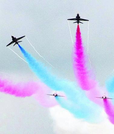 The Red Arrows will fly over Biggin Hill this summer, the airport's announced