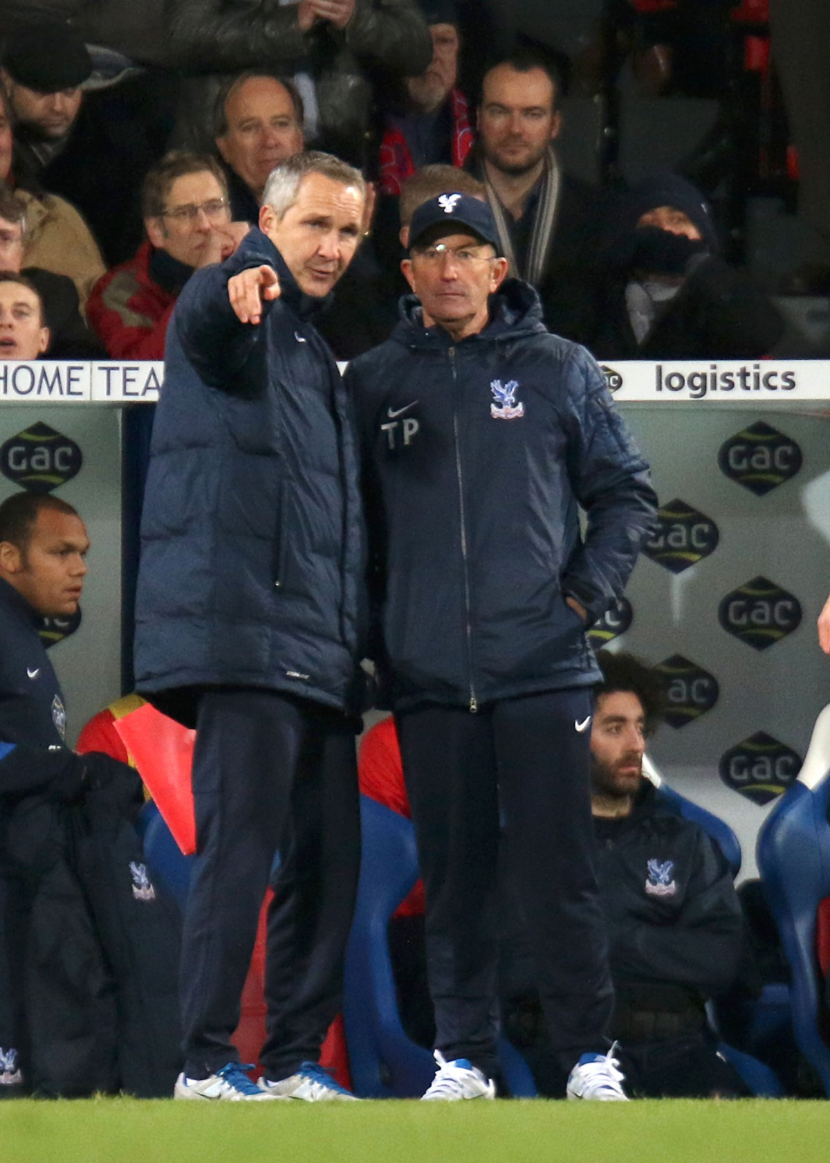 Prepared: Keith Millen and Tony Pulis could be facing a new-look strikeforce tonight              SP78369