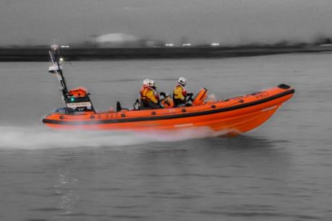 The Gravesend RNLI rushed to the scene