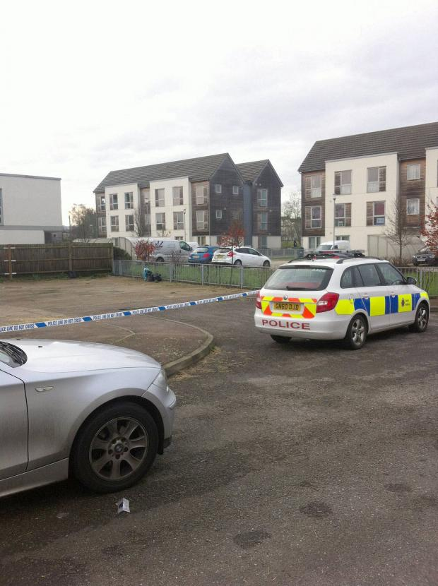 News Shopper: The police were still searching the property at 10am that morning