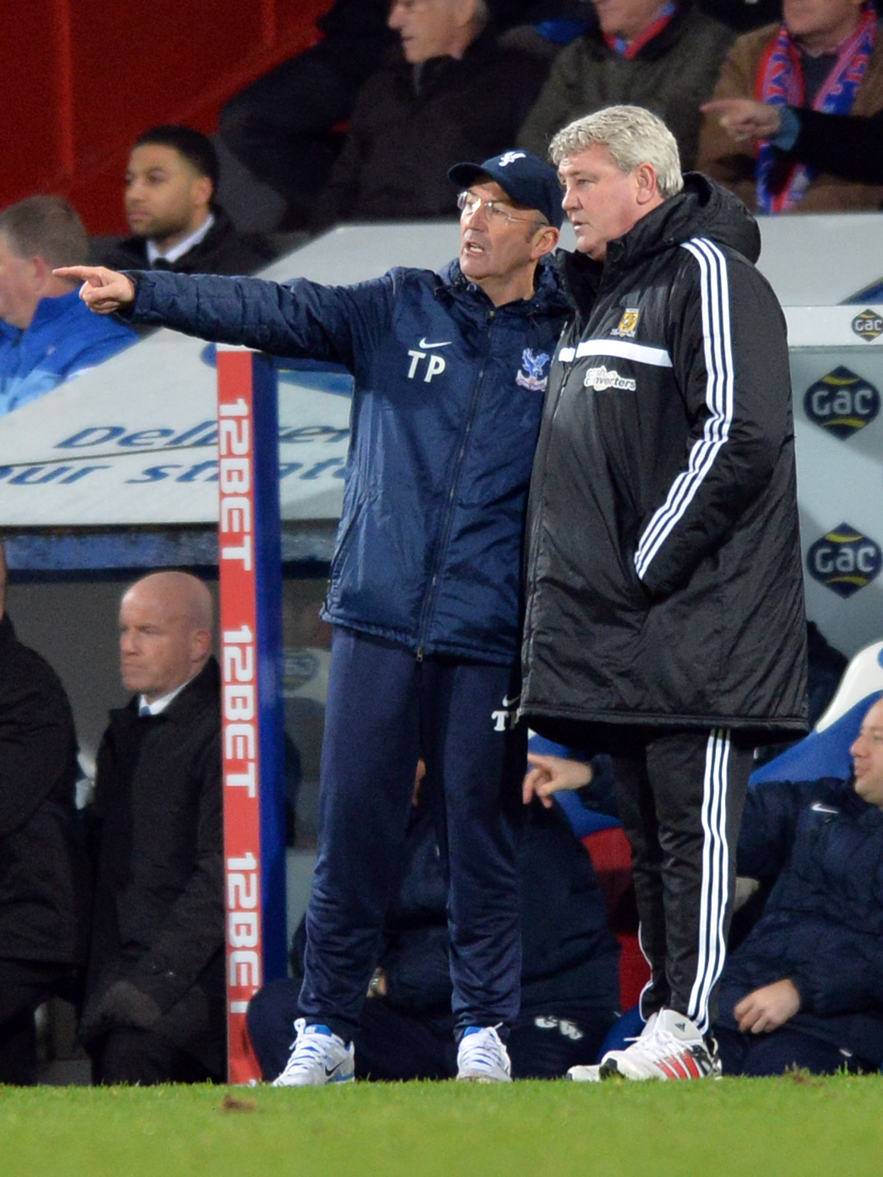 News Shopper: Steve Bruce and Tony Pulis share their views