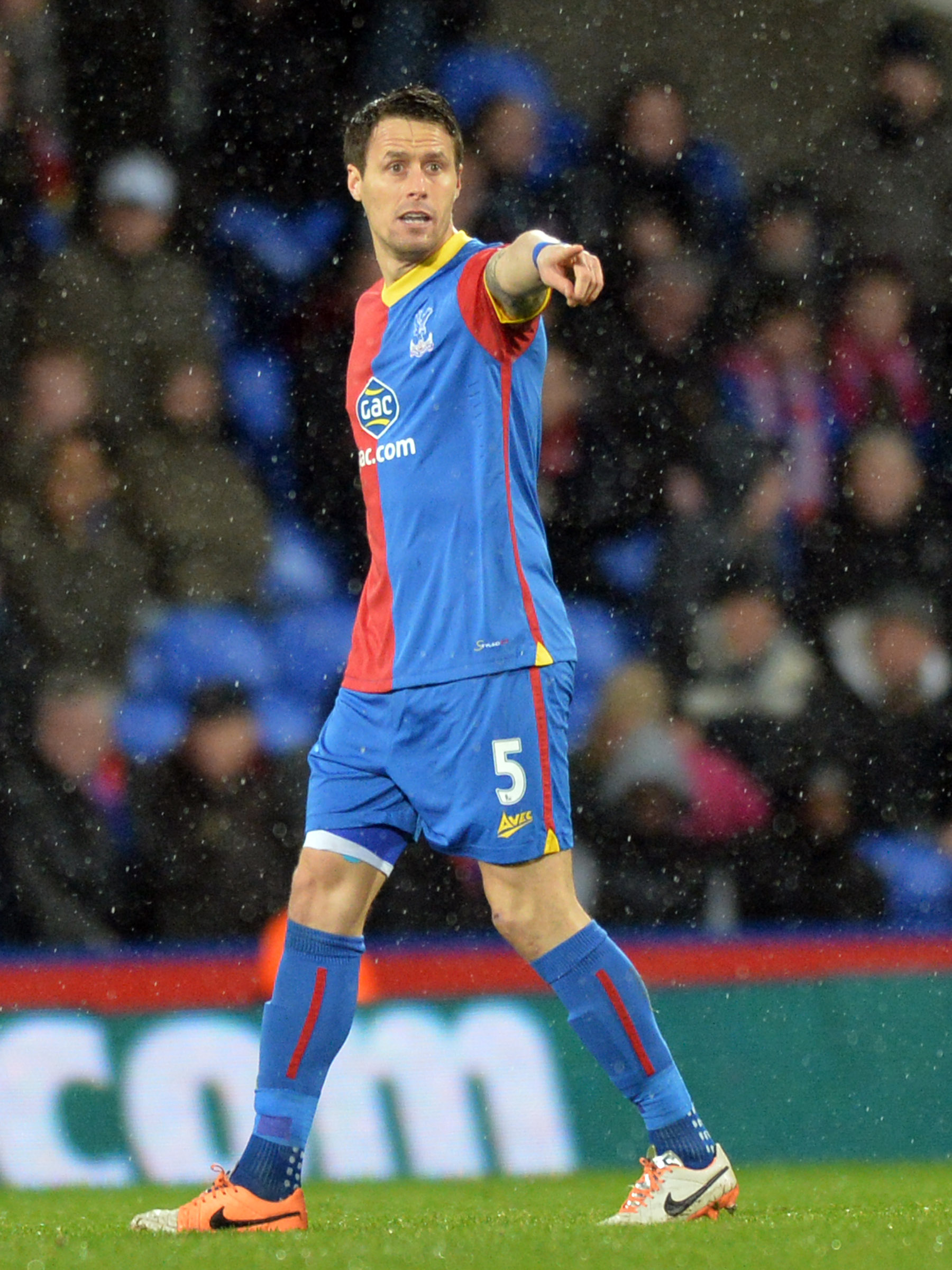 News Shopper: Paddy McCarthy was back in action at Selhurst