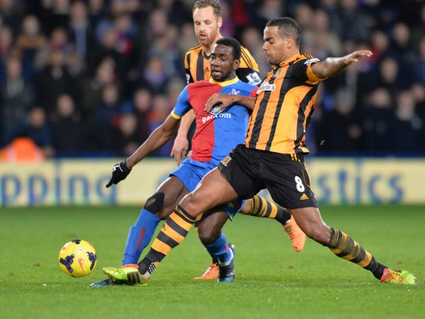 These are exciting times for Yannick Bolasie. PICTURE BY KEITH GILLARD.