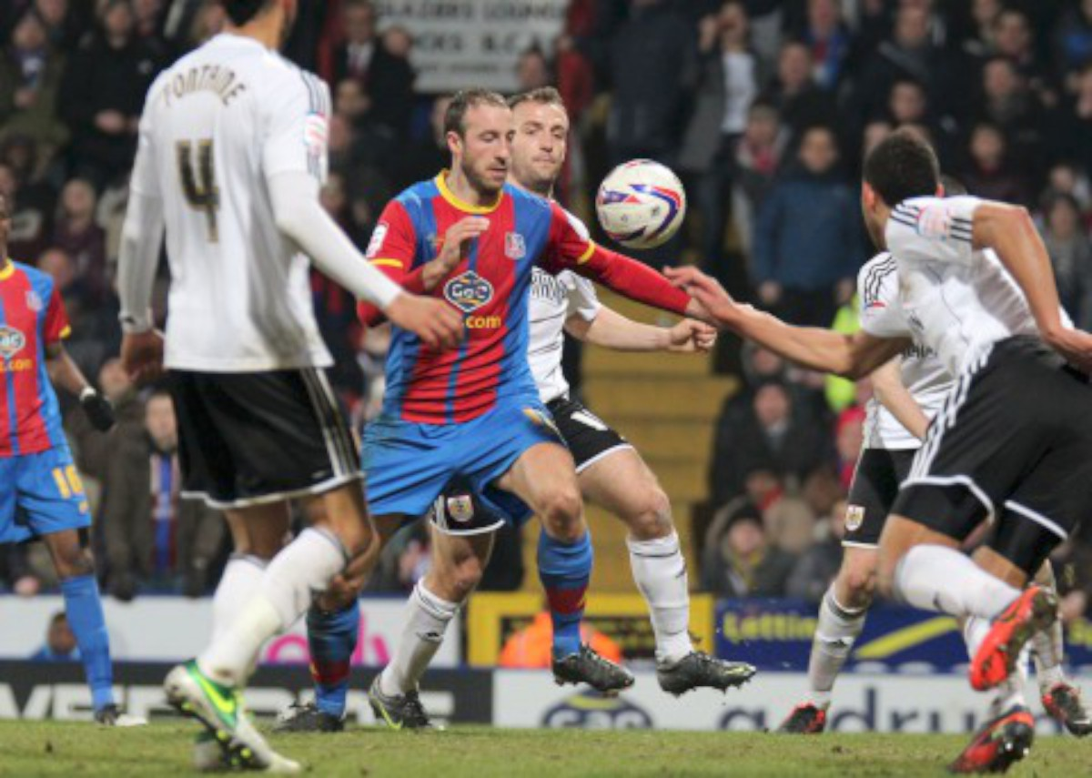 Glenn Murray returned to the starting XI but couldn't fire Palace to victory
