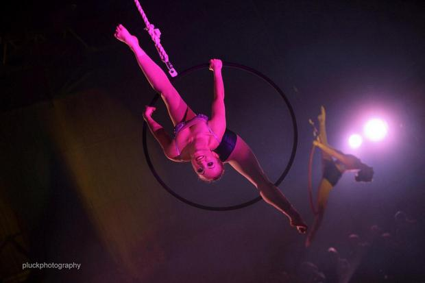 News Shopper: My Aerial Home's circus school's Christmas performance, picture courtesty of Dan Pluck