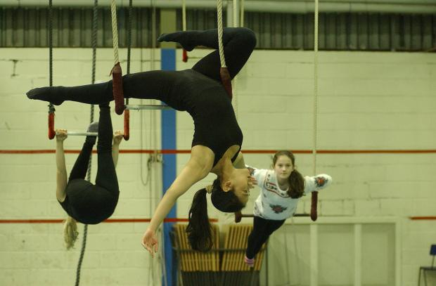 News Shopper: My Aerial Home's circus school training