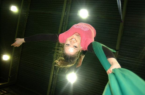 News Shopper: Rhiannon Jones, 27, enjoying a lesson at My Aerial Home
