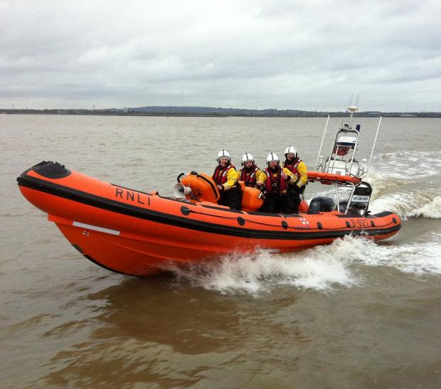 News Shopper: The lifeboat today. Courtesy of R G Tassell