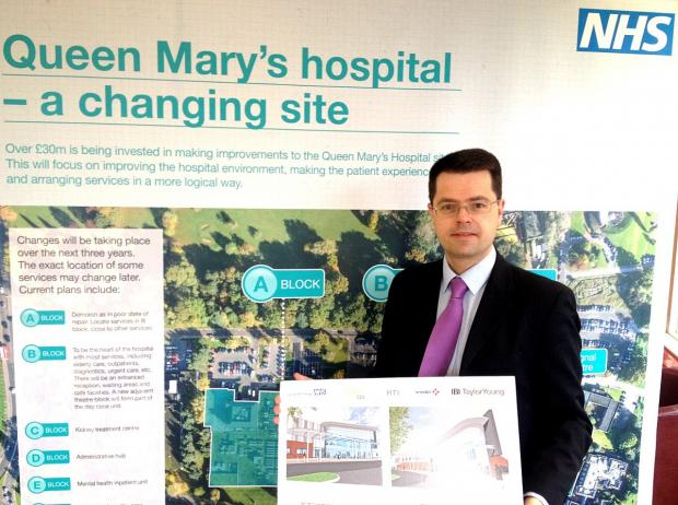 News Shopper: New Cancer centre plans at Queen Mary's Hospital welcomed by James Brokenshire