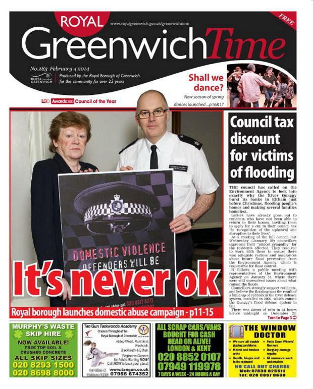 News Shopper: 'It's never ok' - this week's Greenwich Time