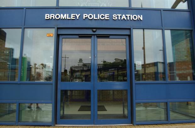 Bromley Police Station has seen a 12 per cent drop in numbers since 2010