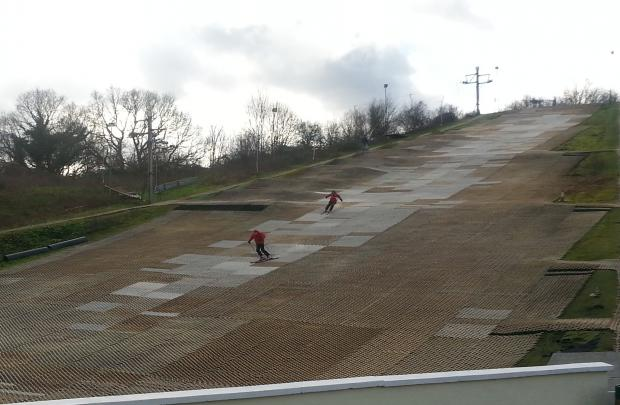 Ski centre ready for Winter Olympics influx