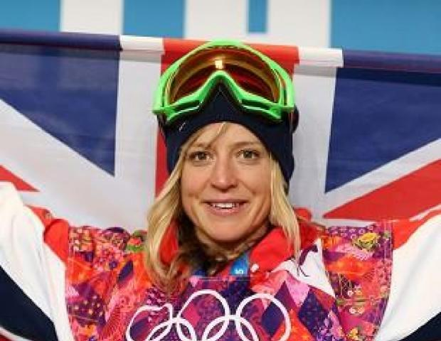 Jenny Jones won bronze at the Sochi 2014 Winter Olympics