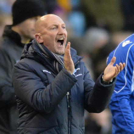 Ian Holloway. PICTURE BY KEITH GILLARD.