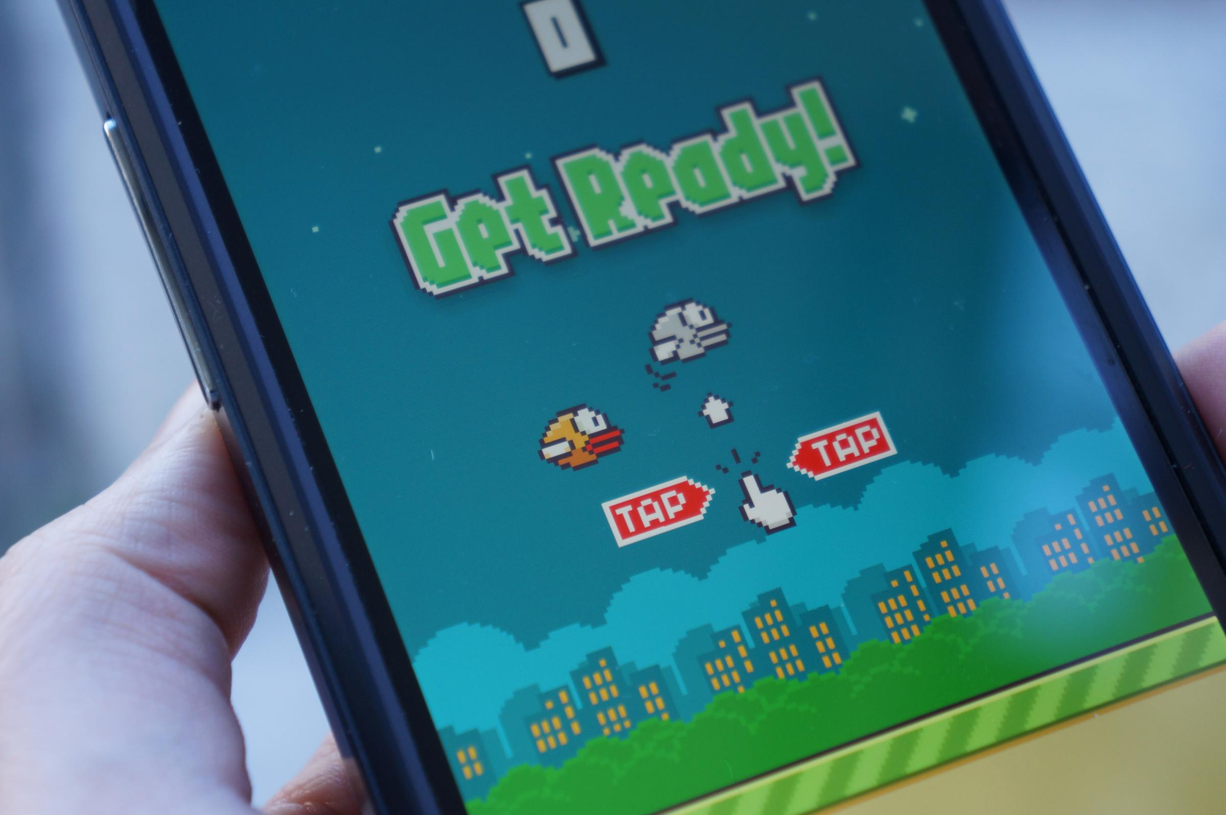 The Flappy Birds game has been massively popular with mobile phone users