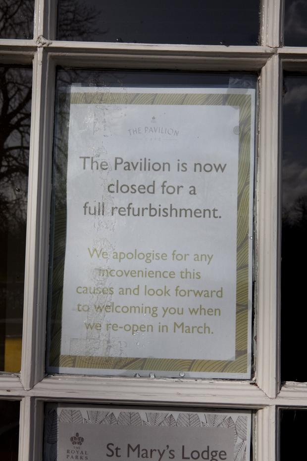 News Shopper: Greenwich Park Pavilion Tea House still closed over refurb delays