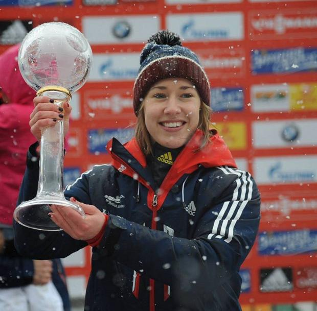 News Shopper: Lizzy Yarnold has a great chance of Olympic gold.