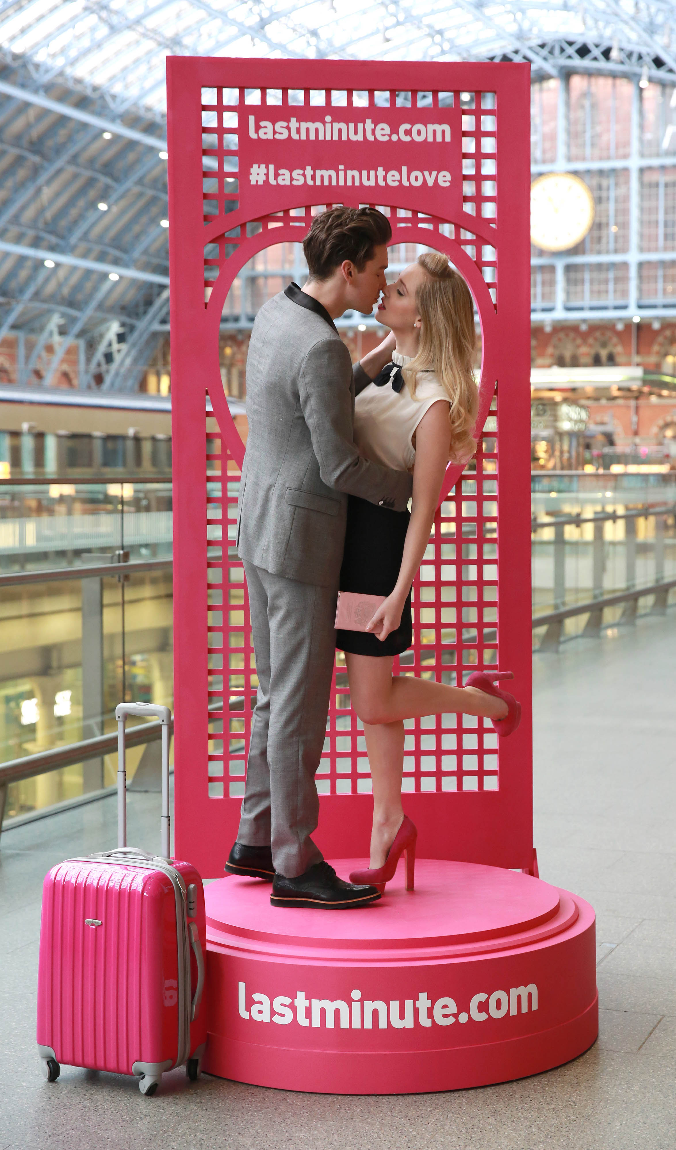 Cutest couples go straight to Paris in Valentine's kissing contest