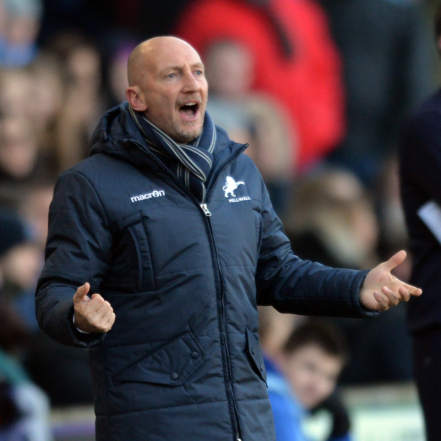 News Shopper: Millwall boss Ian Holloway. PICTURE BY KEITH GILLARD.