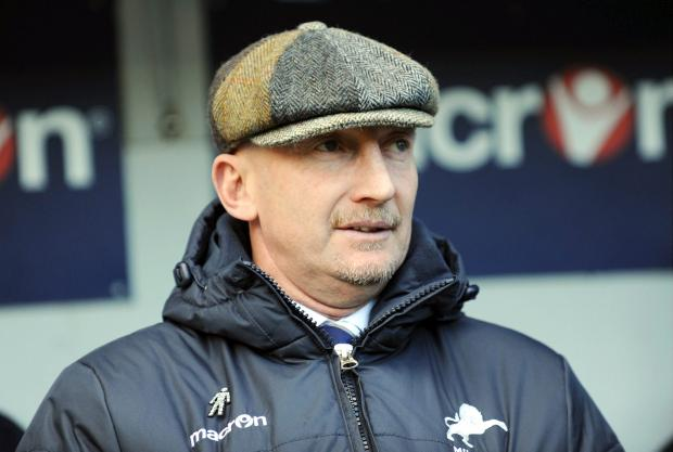 News Shopper: Millwall boss Ian Holloways wants his side to make a promotion-like p