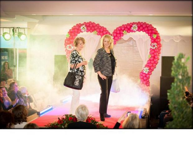 Red carpet rolled out for VIP fashion show in Orpington