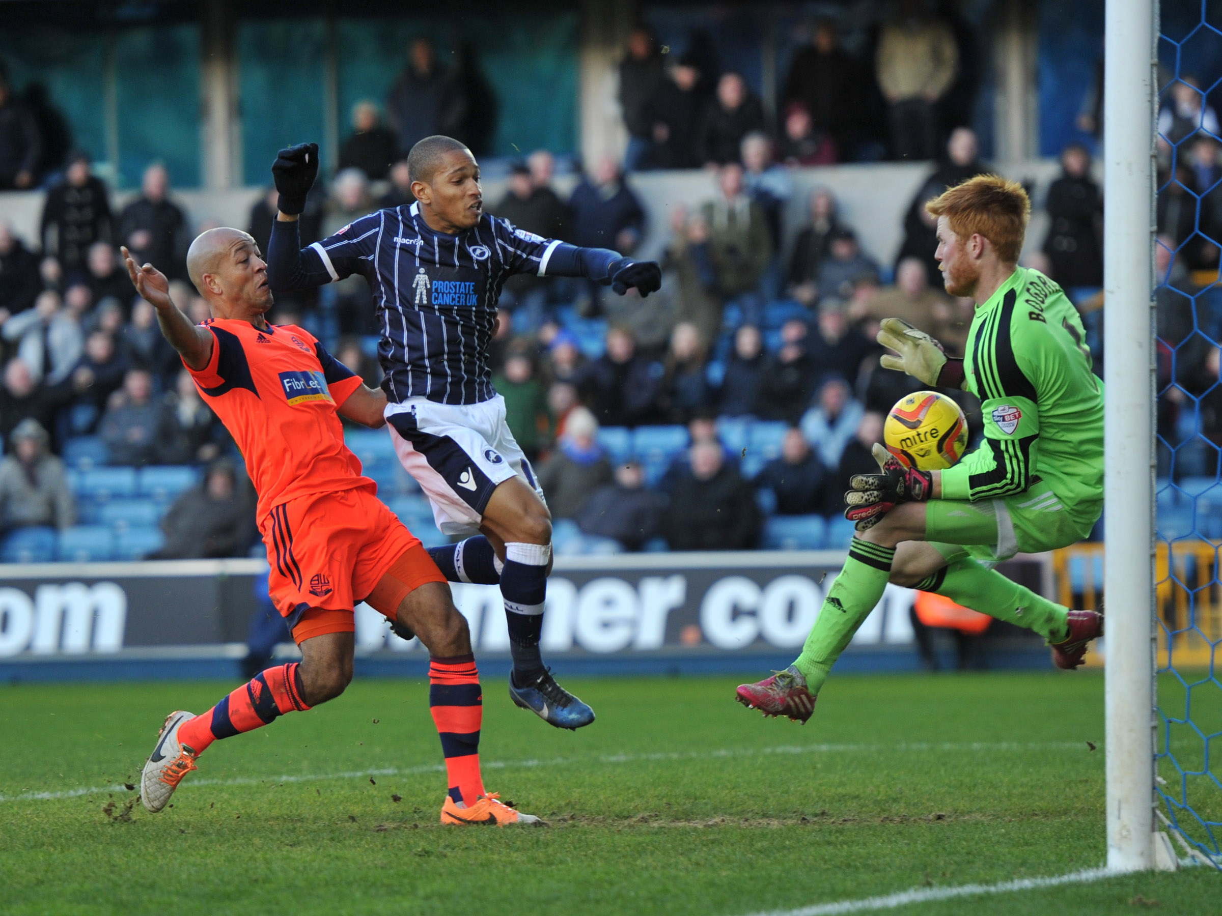 News Shopper: Simeon Jackson is denied by Adam Bogdan