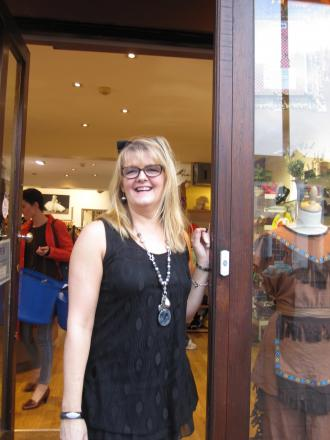 Clare Herriot's proud of the 2gether charity shop