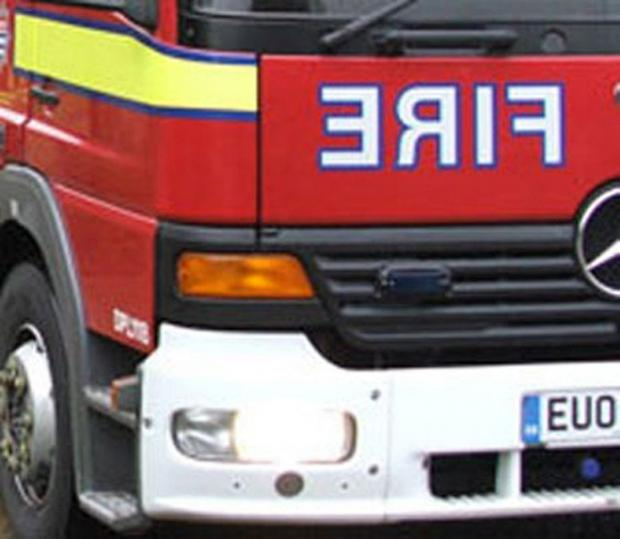 News Shopper: The fire brigade was called to a fire at Boots, Orpington High Street, yesterday evening.