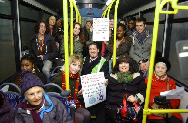 Peace bus launched in memory of Jimmy Mizen