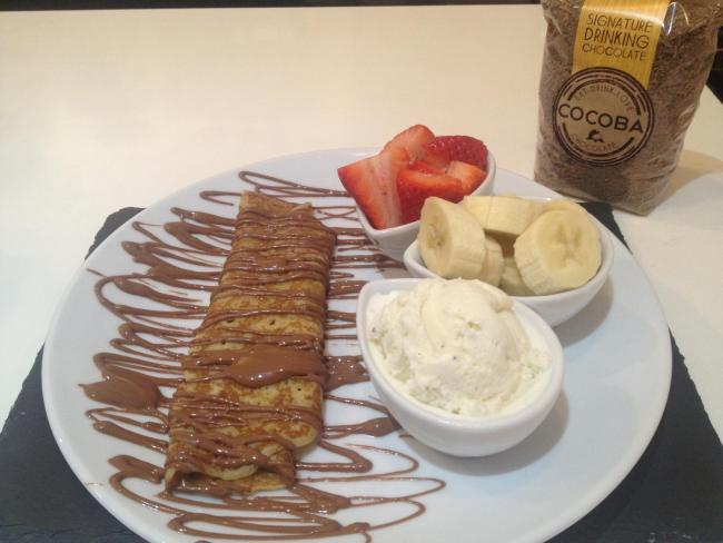 RECIPE: Perfect pancakes by Bluewater chocolate experts Cocoba