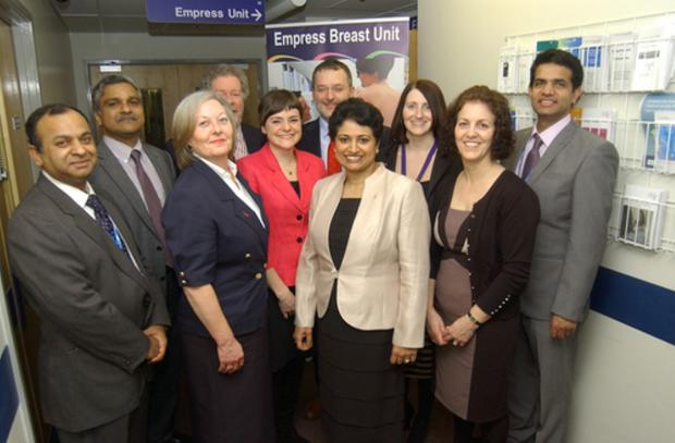 A NEW breast cancer unit will give patients all they need at a one-stop clinic has opened at Darent Valley Hospital in Dartford.