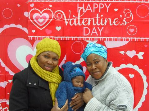 News Shopper: Image 4: Keni, Gerrard and Bisi Azeez Mother, son and grandmother