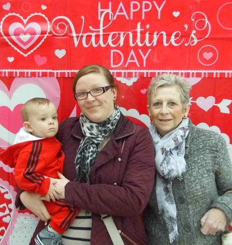 News Shopper: Image 7: Sophie Taylor, Teddy Taylor and Karen Button Mother, son and grandmother