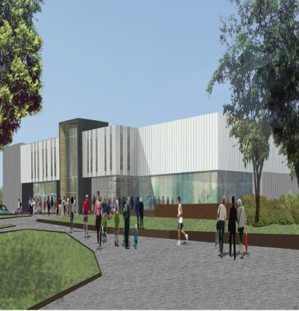 A TWO-WEEK exhibition showcasing the new plans for the £8million revamp of Fairfield Pool and Leisure Centre in Dartford has opened.