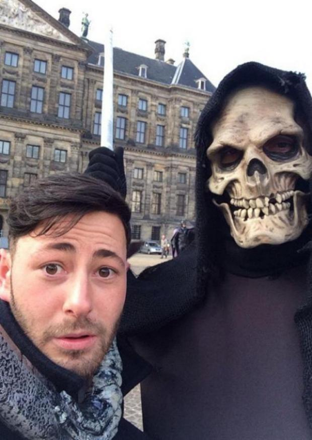 News Shopper: James O'Kane from Orpington ended up in Amsterdam when he got drunk on a night out after a funeral