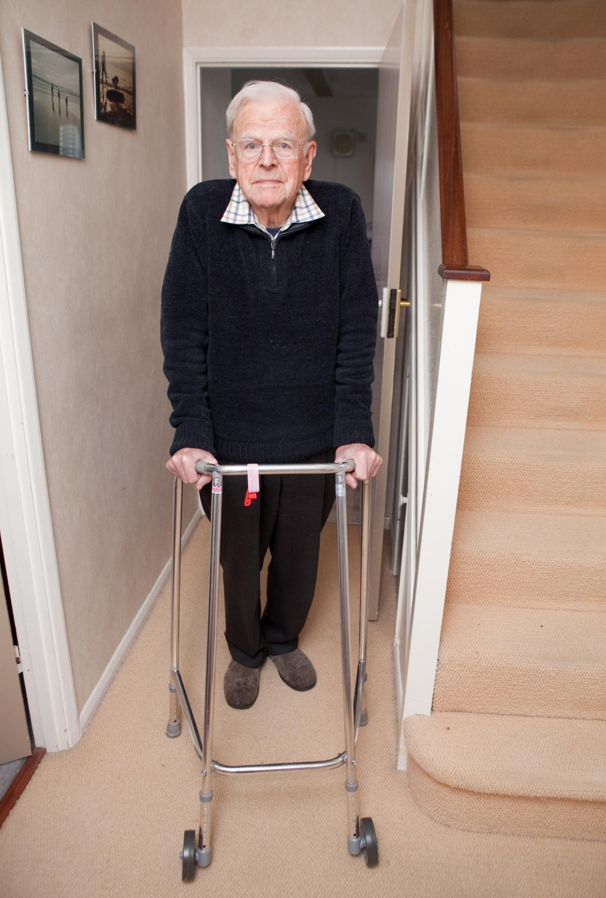 elderly bromley man told to dump zimmer frame by hospital after offering to return - Zimmer Frame