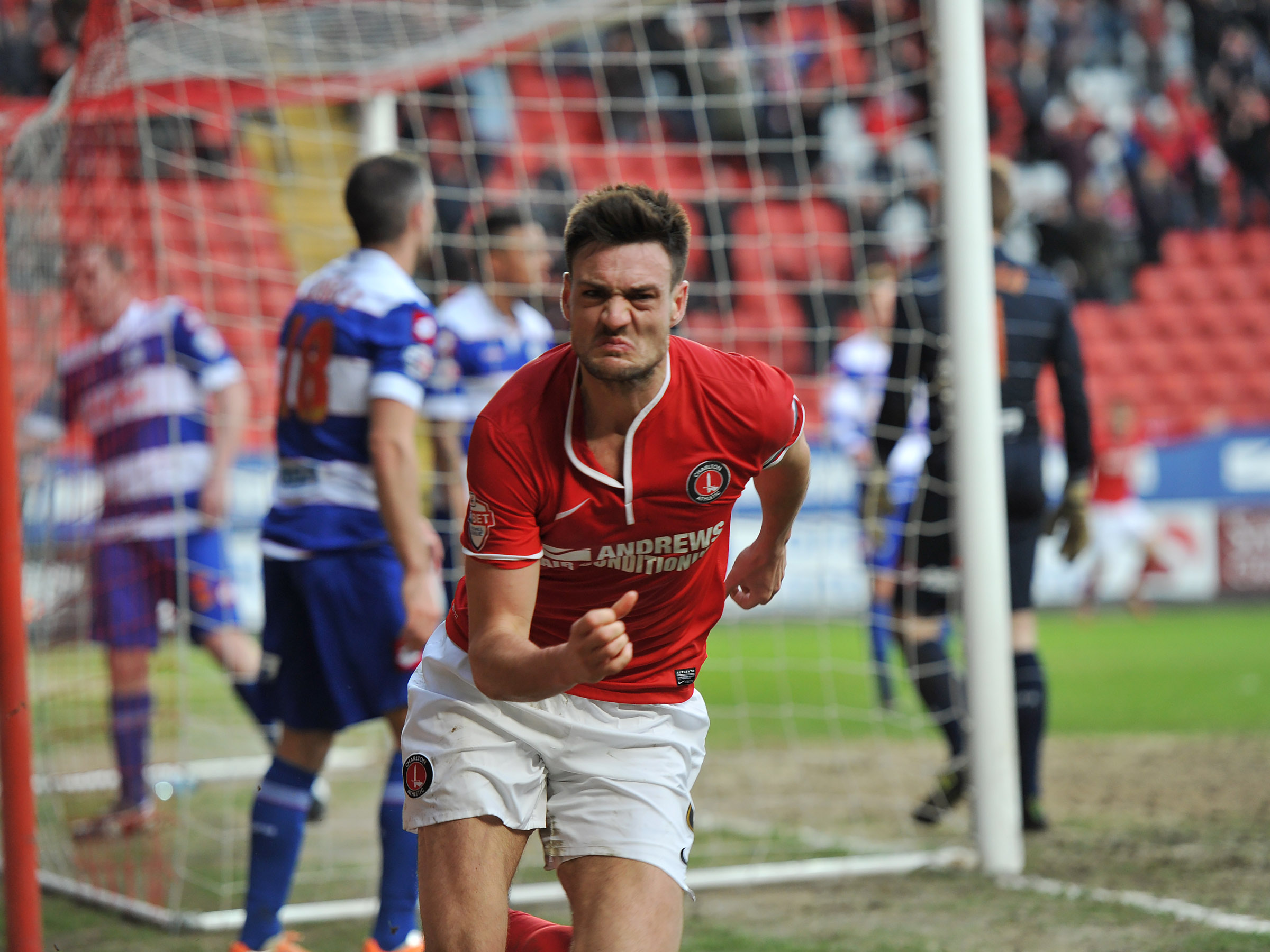 News Shopper: Johnnie Jackson celebrates his late winner