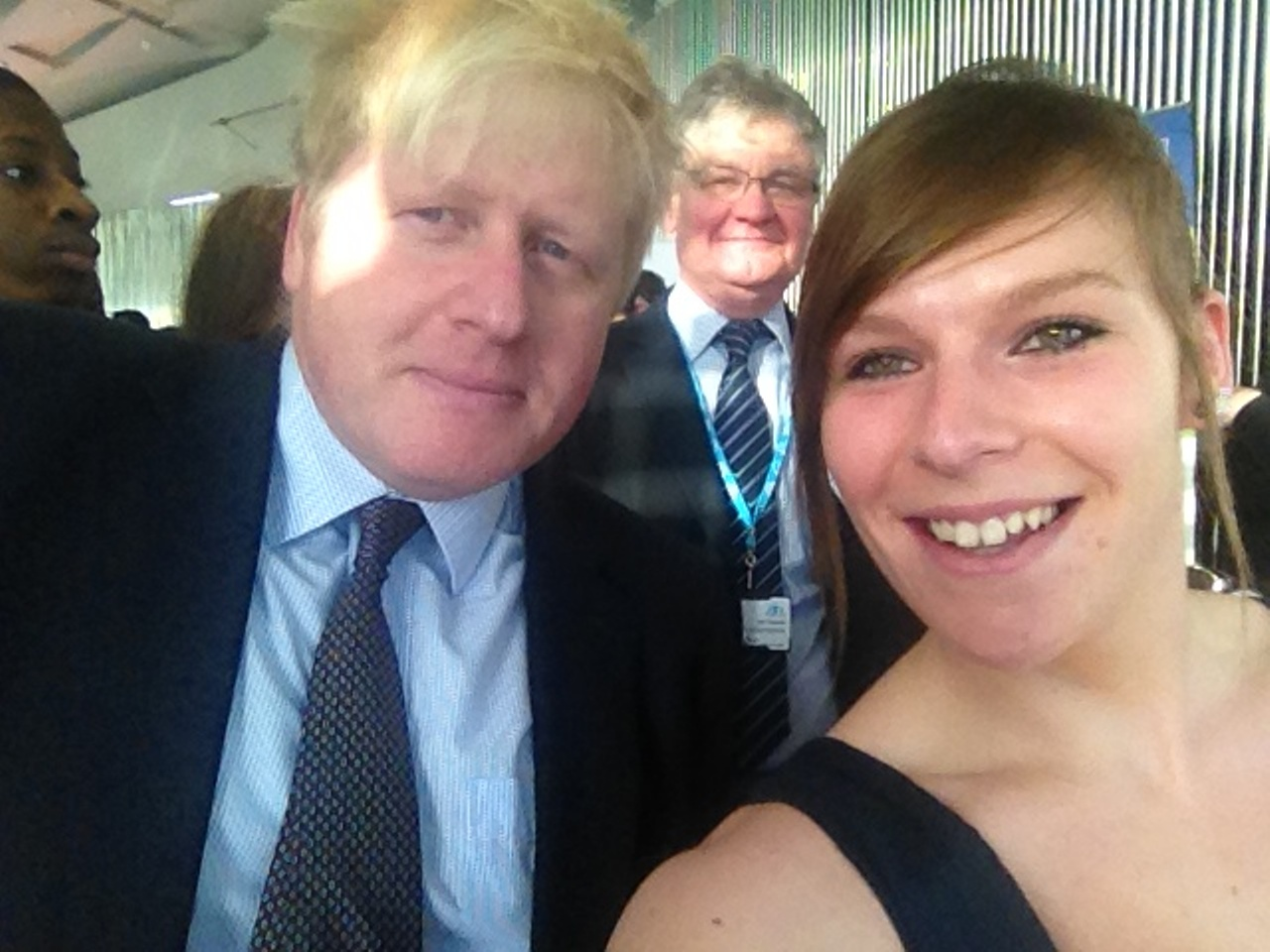 Me, My Selfie and I: Sophie Bingham and Boris Johnson
