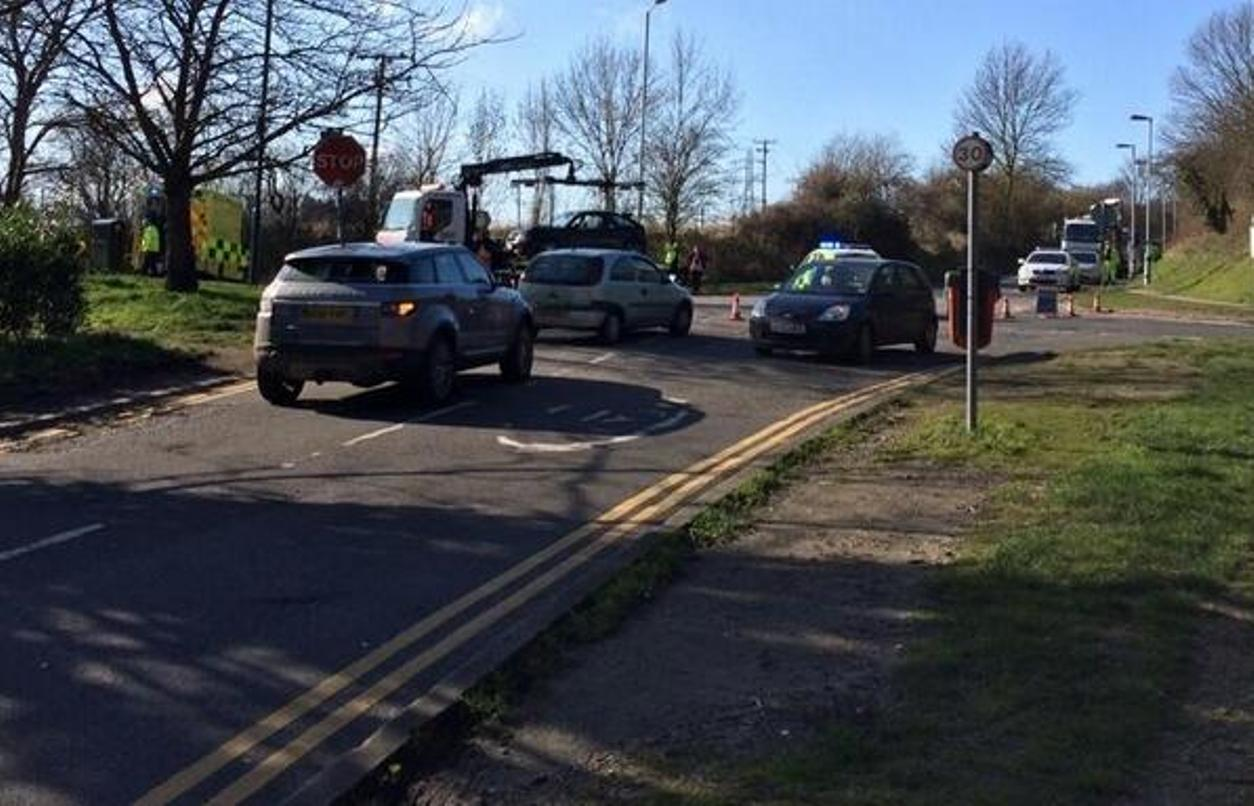 UPDATED: Air ambulance called to road accident in South Darenth
