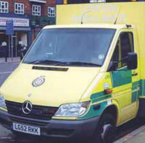 A 21-YEAR-OLD man was taken to hospital after severely cutting his wrist with a knife in a work related injury.